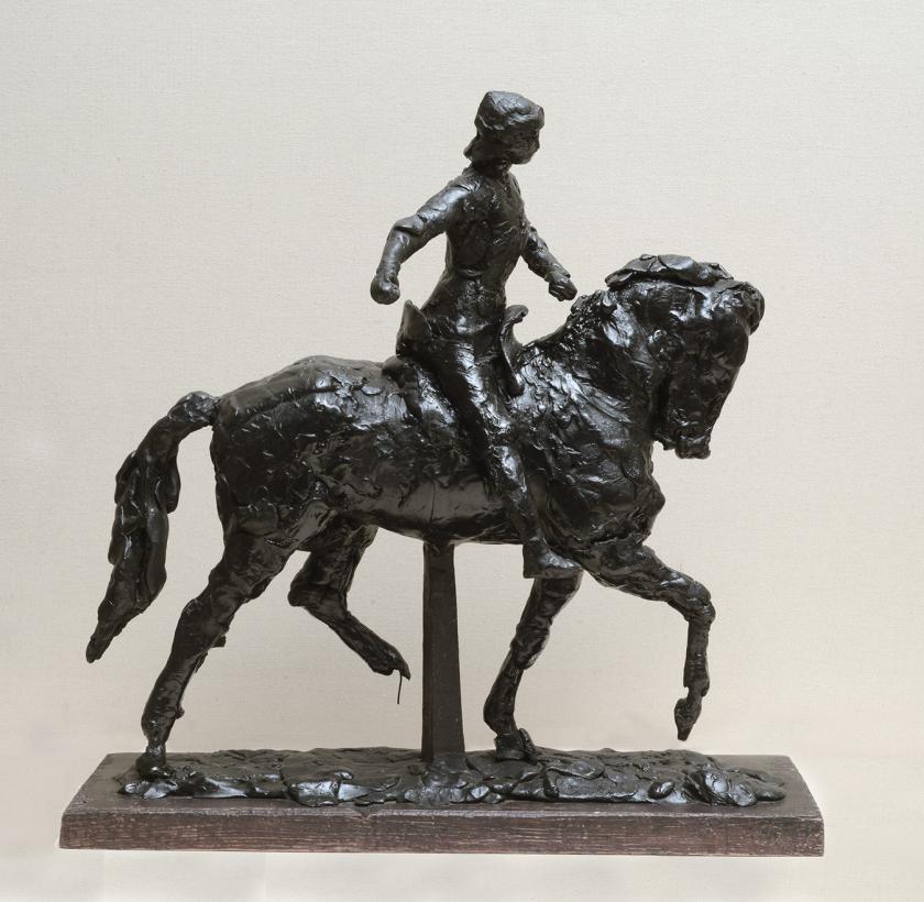Esquisse pour le monument à Jeanne d'Arc