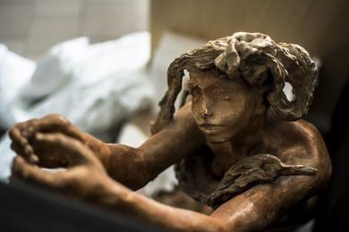 Le Dieu envolé de Camille Claudel, vers 1895