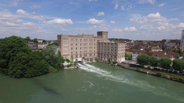 Les Grands Moulins de Nogent-sur-Seine, éléments prestigieux du patrimoine industriel du début du XIXe Siècle
